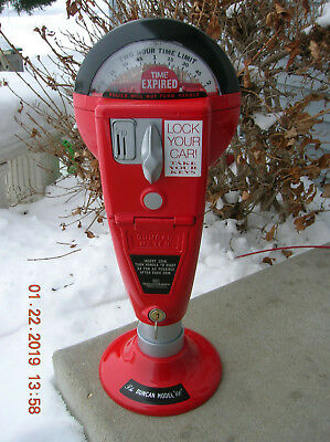 Duncan Model60/76 Parking Meter Working With Key Included Restored With Base