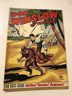 Don Winslow Of The Navy #56 Golden Age Comic 1948