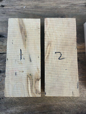 Spalted sycamore maple craft blank / knife scale / carving block 195x60-80x35mm