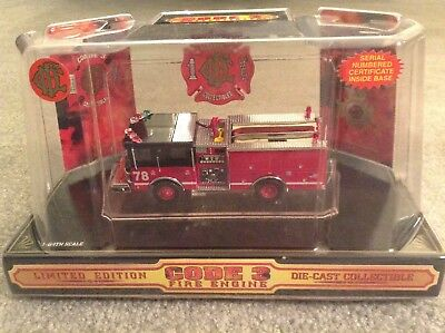"Code 3 Chicago Fire Department Pride ""Wrigleyville"" Luverne Pumper Engine Co.78"