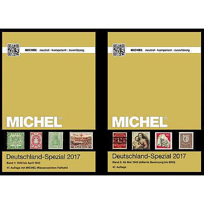 Set: MICHEL Deutschland-Spezial 2017 Band 1+2 komplett Original 1A-Neuware