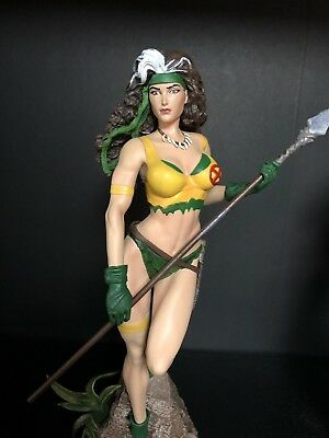 Marvel Gallery X Men Rogue Savage Land Comic Statue!