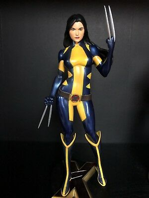 SDCC Exclusive Diamond Select Toys Marvel Gallery Unmasked X-23