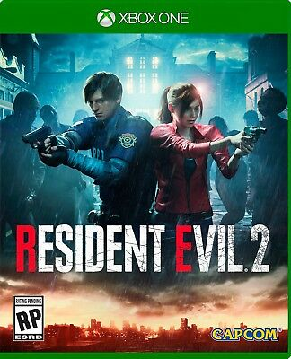 RESIDENT EVIL 2 XBOX ONE  (read description)