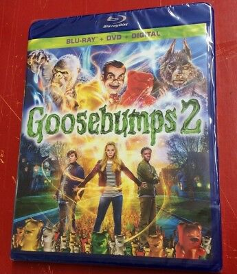 Goosebumps 2: Haunted Halloween (Blu Ray, DVD & Digital ,2018) Authentic Sealed