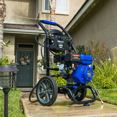 DuroMax XP3100PWT 3,100 PSI 2.5 GPM Gas Powered Power Pressure Washer -T9014