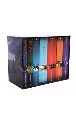 Harry Potter 7 Books Complete Collection Paperback Boxed Set |Children Edition 1