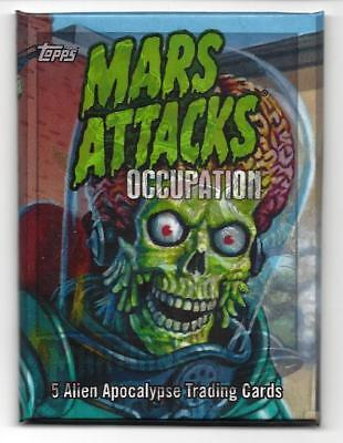 Mars Attacks Occupation Topps 2015**sketch Card Hot Pack Very Limited Production