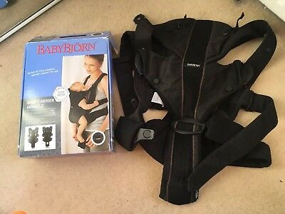 BabyBjorn Baby Carrier Miracle - Airy Mesh
