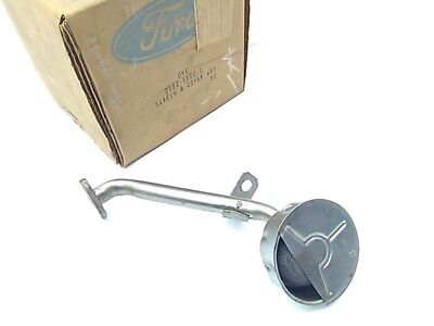 Nos 1979 - 1990 Ford Mustang 2.3L Engine Oil Pan Pump Pickup Tube And Screen