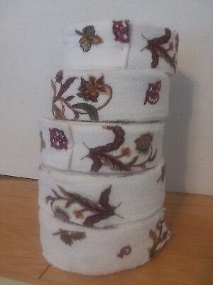 Flannel Rag Rug Fabric rolls for rug making braided, woven, hooked rugs at home