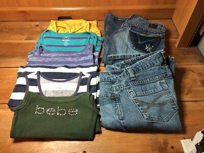 Women's Lot Of 7 Designer Clothes & Jeans - Size 3/ 27/Small- Very Nice!