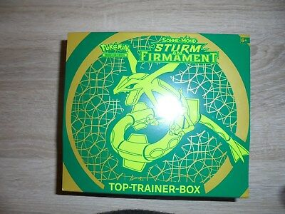 Top Trainer Box - Sonne & Mond - Sturm am Firmament - Neu/Ovp  Deutsch