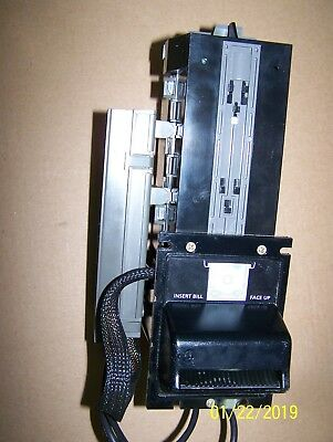 Coinco Mag50BB Dollar Bill Acceptor Validator MDB Comes With Bill Box Working