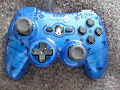 PowerA Mini Pro Elite Wireless Controller for PlayStation 3 PS3 - Blue