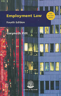 Employment Law by Gwyneth Pitt (Book, 2000)
