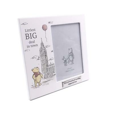 Personalised Baby Photo Frame Disney Winnie The Pooh Gift - Big Deal DI503-P