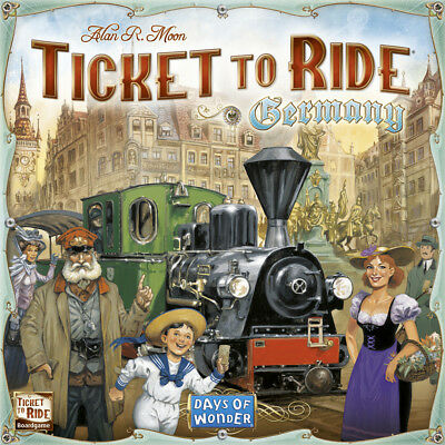 Ticket to Ride - Germany - Standalone Board Game