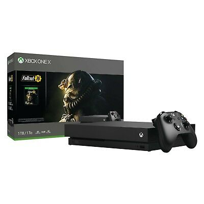 (NEW!) Microsoft Xbox One X - Fallout 76 Bundle - game console - 4K - HDR - 1 TB