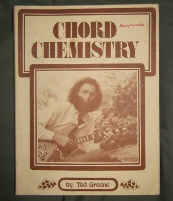 Chord Chemistry by Ted Greene (1971, Paperback) Very Good condition