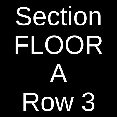 2 Tickets Old Dominion 4/13/19 BancorpSouth Arena Tupelo, MS
