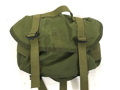 "post-Vietnam US Army/USMC M1967 Nylon Combat Field Pack ""Butt Pack"" #A41"