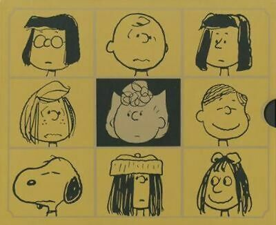 NEW The Complete Peanuts 1987-1990 Gift Box Set By Charles M. Schulz Hardcover