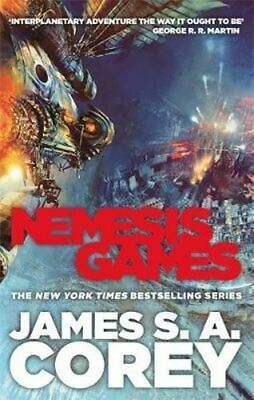 NEW Nemesis Games By James S. A. Corey Paperback Free Shipping