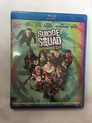 Suicide Squad (Blu-ray)Extended Cut BRAND NEW