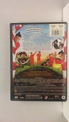 DVD Movie CHARLIE AND THE CHOCOLATE FACTORY Johnny Depp in the Original Jacket