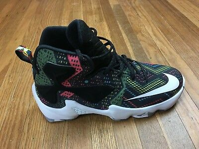 newest 7fb7c 0c2a7 NIKE LEBRON XIII 13 BHM Black History Month Multi Color ...