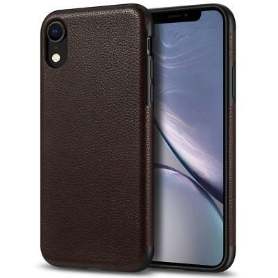 coque cuir marron iphone xr