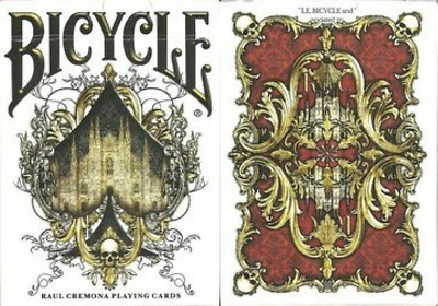 Bicycle Raul Cremona Playing Cards – Limited Edition - SEALED