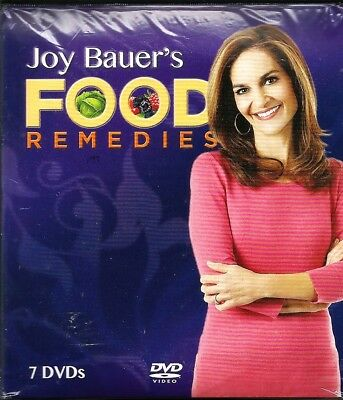 NEW Joy Bauer's Food Remedies - 7 DVD Set ~Inky Dinky, 2014 ~Weight Loss ~Sealed