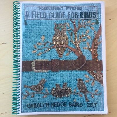 Carolyn Hedge Baird A Field Guide for Birds reference stitch book needlepoint