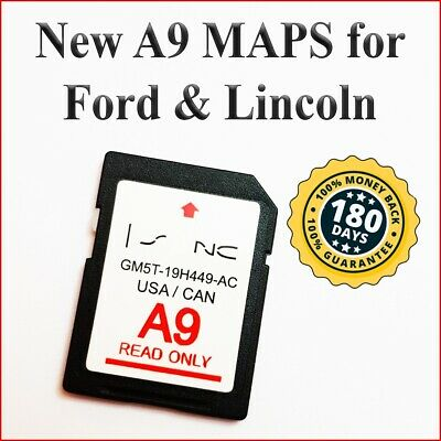 Ford A9 Lincoln Map Update A9 Nav Navigation Gps Sd Card Sync 2 2019 Usa Canada