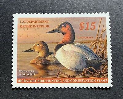 WTDstamps - #RW81 2014 - US Federal Duck Stamp - NG