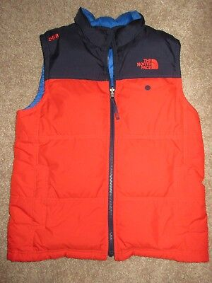 The North Face 550 Fill Goose Down Vest Kid's Youth L