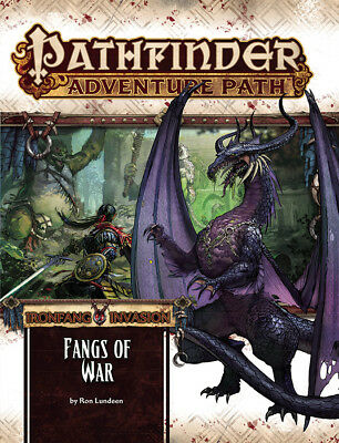 Pathfinder Rpg - Ironfang Invasion Adventure - Fangs Of War