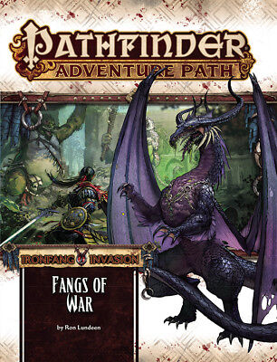 Pathfinder Rpg - Ironfang Invasion Adventure - Zanne Of War