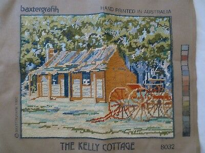 Craft Hand Made Tapestry Completed The Kelly Cottage 8032