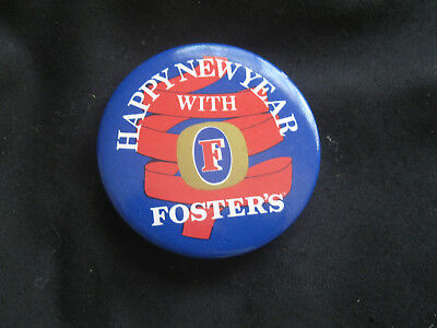 Fosters Happy New Year Badge