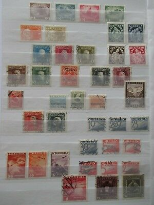 Austria Stamps - Small Collection - E8