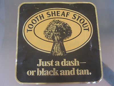 Tooth Sheaf Stout Tin Bar Sign