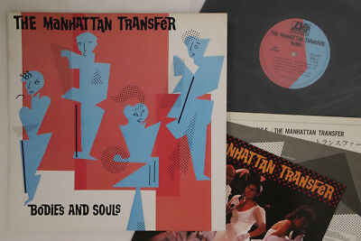 THE MANHATTAN TRANSFER - Bodies And Souls - Vintage Vinyl Lp - $5 10