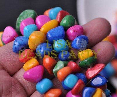 Wholesale 1 Strand 35'' Natural Stone Gemstone Free Form Rock 9~13mm Chips Bead