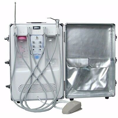 CE Portable MOBILE BOX TYPE DENTAL Turbine Unit +Air Compressor Suction +Syringe