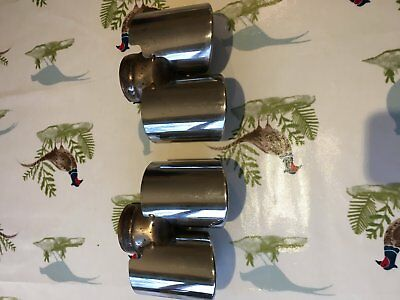 porsche 997 exhaust tailpipes 99711198330 and 99711198430