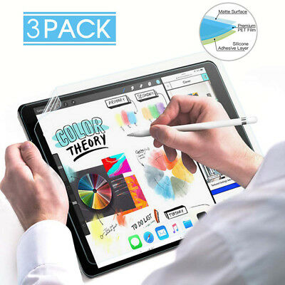 3xHigh Touch Sensitivity Paper Like Screen Protector For iPad Pro 12.9 inch 2018