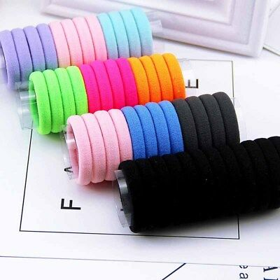 24PCS Women's Elastic Band Hair Ties Ropes Ring Ponytail Holder Hair Accessories